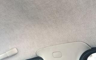 Какую ткань используют для перетяжки потолка в машине, и как это сделать самому