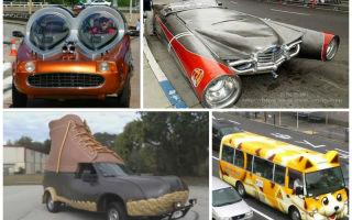 Самые странные, необычные и удивительные автомобили мира