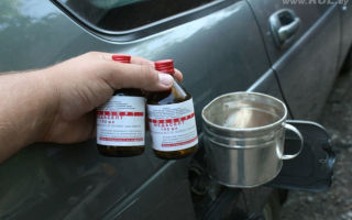 Как удалить воду из бензобака и что будет если ее туда залить