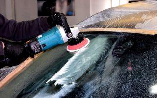 Полировка стекла автомобиля от царапин: какую пасту выбрать и как полировать
