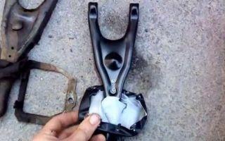 Замена сцепления и вилки на автомобиле газель своими руками