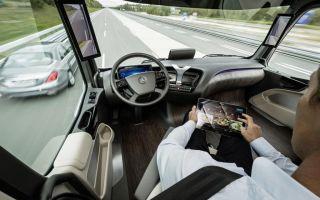 В 2025 году появятся большегрузы с автопилотом