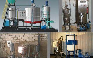 Сырье для биодизеля и его производство в домашних условиях