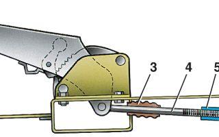 Почему не держит стояночный тормоз и как его подтянуть