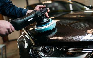Самостоятельная полировка кузова автомобиля, виды полировок